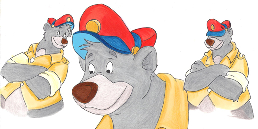 Disney Baloo Checks