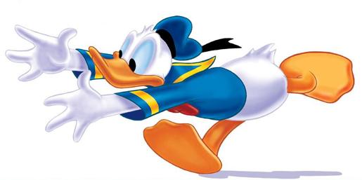 Donald Duck Checks