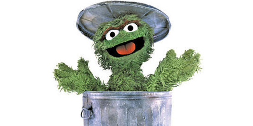 Oscar the Grouch Checks